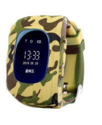 Smart Baby Watch Q50 Military Edition Yellow